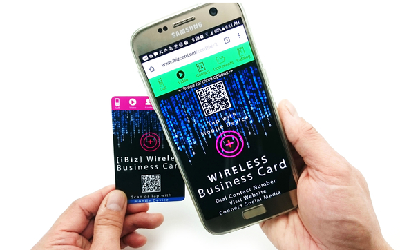 Idol memory ibiz wireless business card by idol memory in 1531856015 bc391800ibizwi tap reheart Choice Image