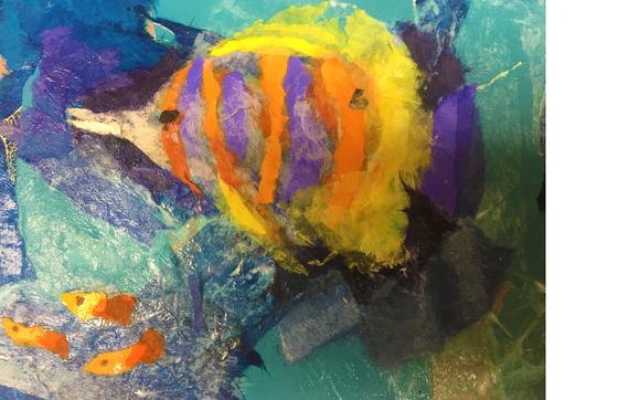 rip sip paper collage workshops by juxtapose gallery in westfield