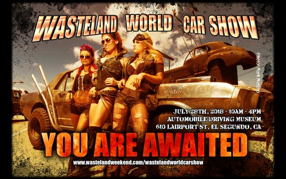 Wasteland Car Show By Automobile Driving Museum In El Segundo CA - El segundo car show