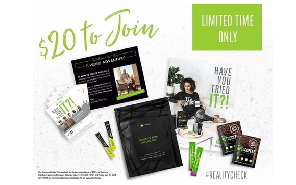 Join For 20 By It Works Independent Distributor Chondrika Hayes In