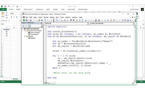 Intermediate Microsoft Excel VBA Training - Free Repeats