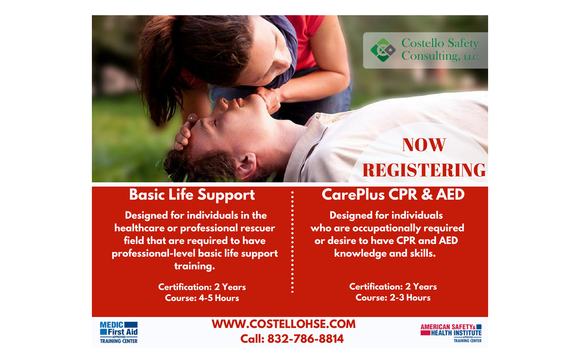 CPR Training Classes by Costello Safety Consulting LLC in Houston ...