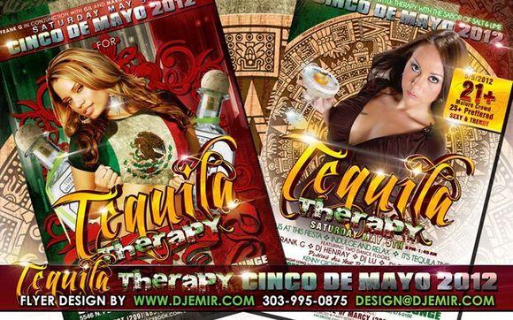 cinco de mayo flyer designs for your events by dj emir santana