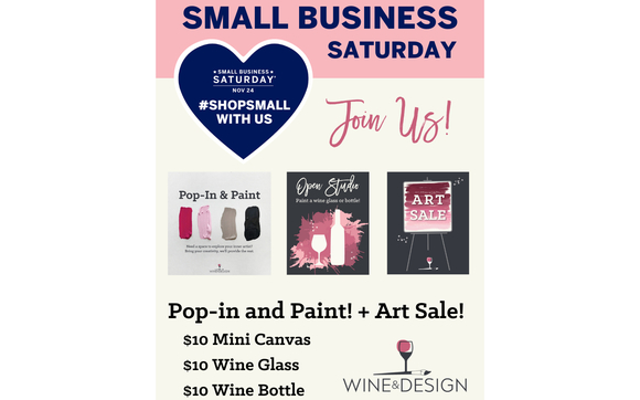 Pop In And Paint And Art Sale By Wine And Design Stafford In