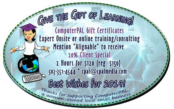 online gift certificates for small business