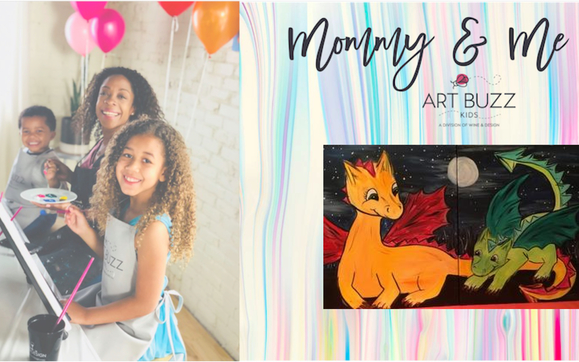 Mommy Me Painting Class By Williamsport Wine Design In