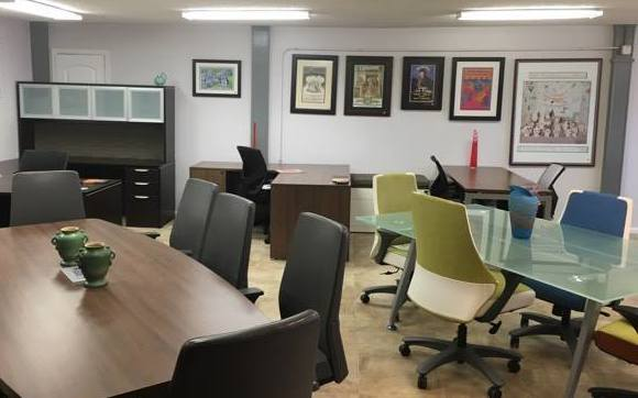New Office Furniture Showroom In Austin By Logical