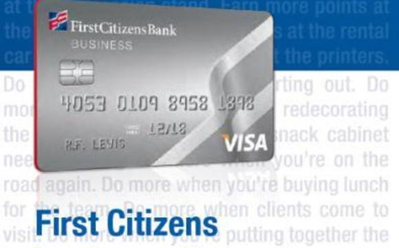 OFFERING FOR BUSINESS CREDIT CARD by First Citizens Bank