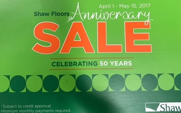 Shaw Flooring Anniversary Sale By Flooring Solutions Of Memphis In - Shaw flooring financing