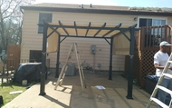 1493649036 after patio awning installation handyman contractor mold vapor barrier dishwasher garbage disposal trampoline roofing shutter gutter guard security bar