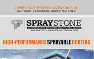 1498159210 spraystone sprayable coating    200 bucket %28limited time%29
