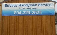 1487774770 bubbas handyman service richmond virginia 804 329 2525 www.bubbashandymanservice.net  contractor handyman plumbing carpentry flooring roofing gutter shutter assembly improvement remodel