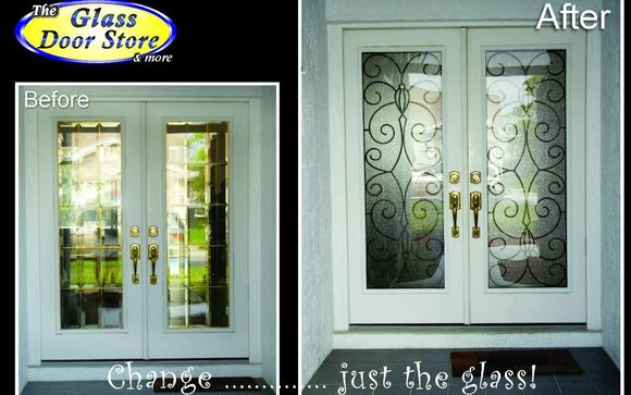 Replace The Glass Inserts In Your Existing Steel Or Fiberglass Door