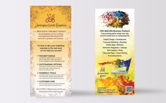Rack cards by darlington smith graphics promotions in riner area rack cards are a fabulous way to advertise and market your business products services and promotional campaigns they are an affordable return on colourmoves
