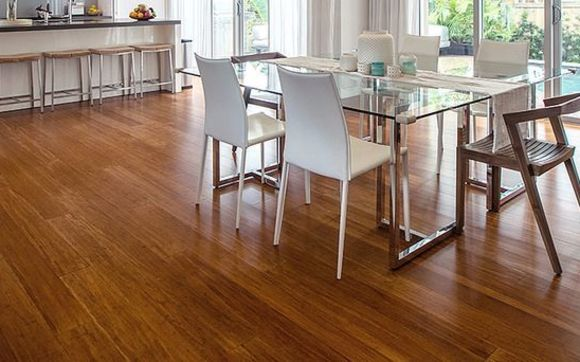 Bamboo flooring is the hardest wood flooring available. Our low price  guarantee includes professional installation, moldings, trims and  underlayment.