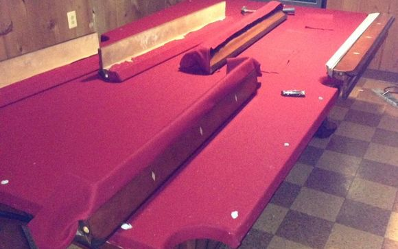 Pool Table Disassembly By Dismantle Furniture In Windsor Mill Area - Pool table disassembly