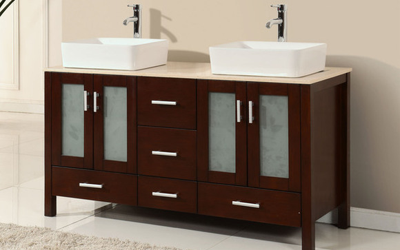 Custom Bathroom Vanities Fort Lauderdale the joshua tree vanity village~mirrors plus - alignable