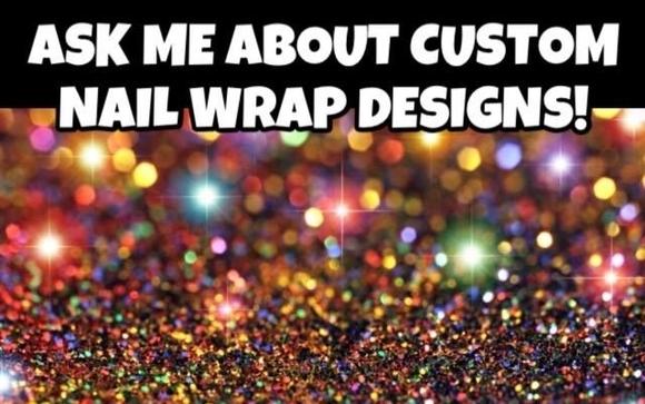 Nail Art Studio Custom Nail Wrap Designs By Amys Amazing Jams