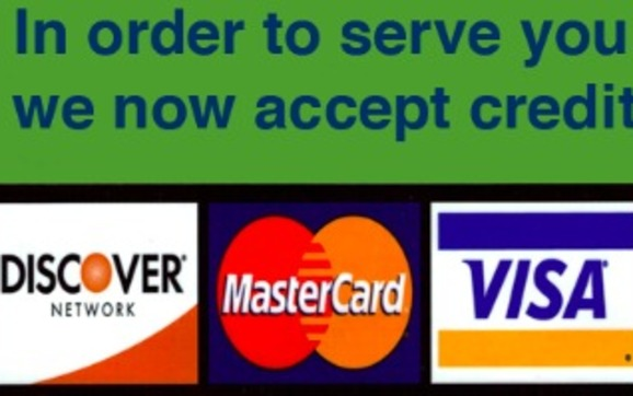 Now accepting credit card payments by hymans homecare agency llc 1445645913 accepting credit cards at your small business reheart Image collections