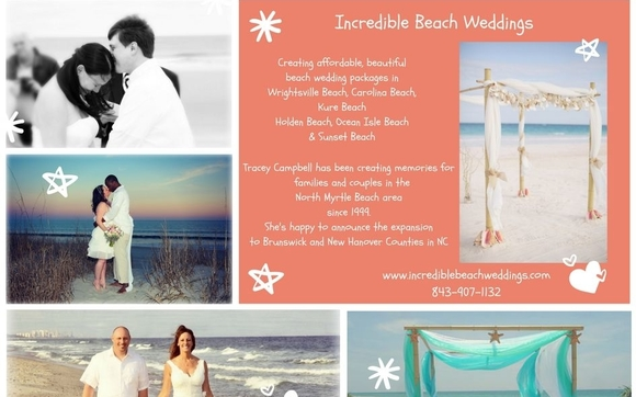 Contact Incredible Beach Weddings