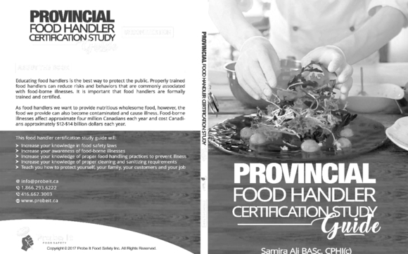 food safety course by probe it food safety training in toronto on rh alignable com Food Handlers Card Food Handlers Permit