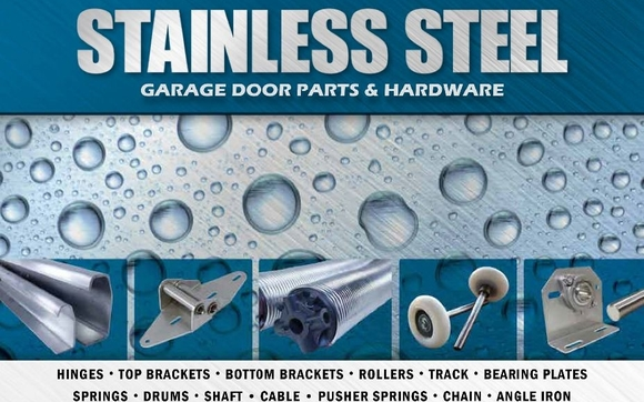 Stainless Steel Overhead Door Hardware
