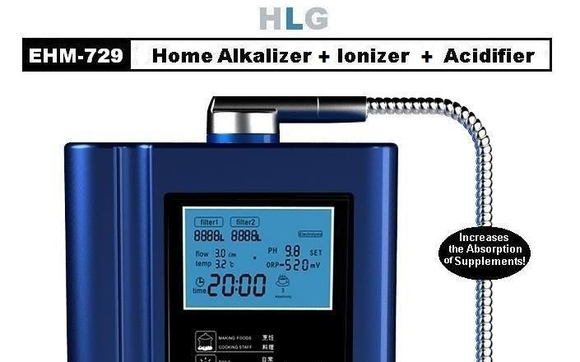 Our MOST Popular Water Ionizer Provides 5 Titanium Coated Plates That Separate Acid From Desired Alkaline First Is Filtered Through The
