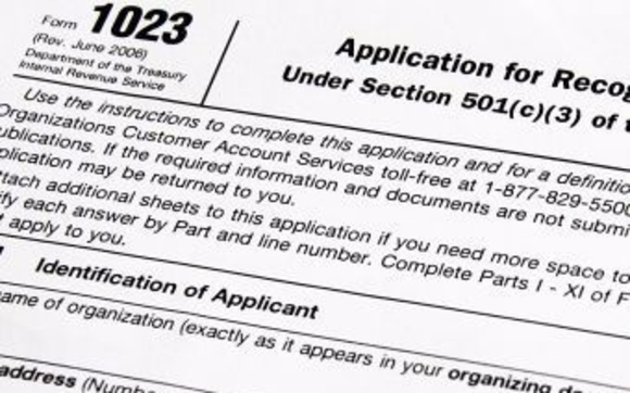 Form 1023 501c3 Tax Exempt Status By Competent Assistance For