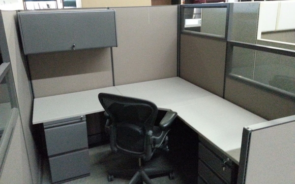 Blended Cubicles By American National Services In Fort Worth Tx