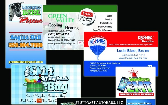 Angry pixel design sahuarita area alignable business cards reheart Image collections