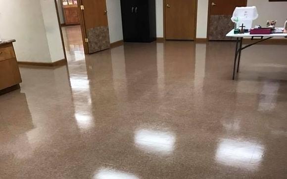 Strip Wax Vct Vinyl Composite Tile Flooring By Pure Clean Floor