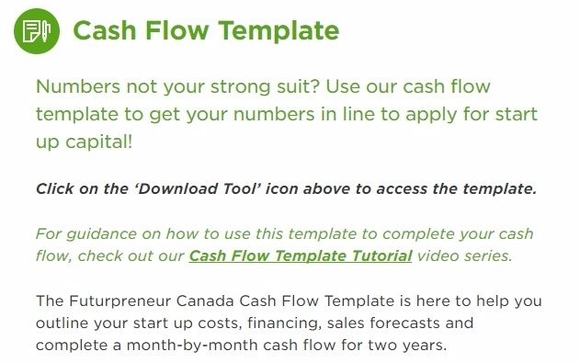 financial forecast cashflow projections free template by