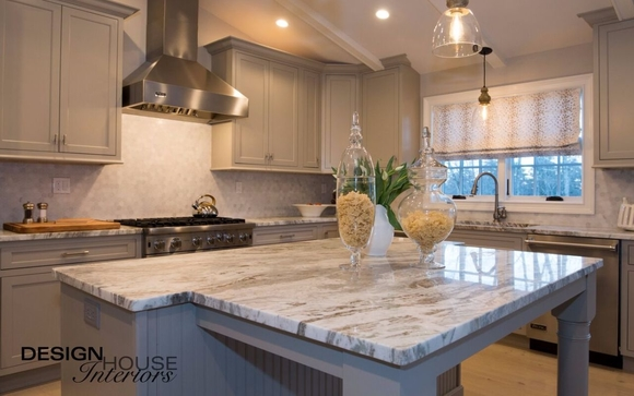 Custom Kitchen And Bath Design By Design House Interiors In
