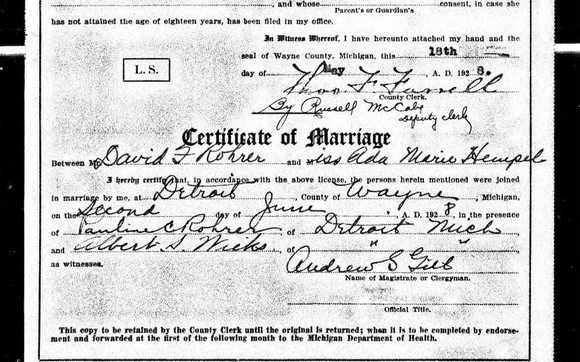 marriage certificates by family trees by jackie in middleburg fl