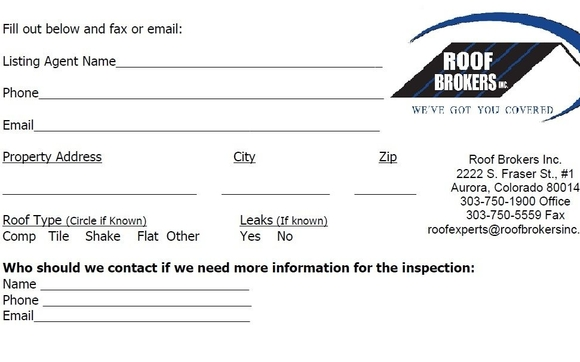 roof certificate template 5 year roof certification