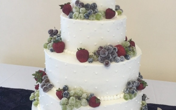 Simple Elegance Wedding Cakes by Love By The Slice Baking & Catering ...