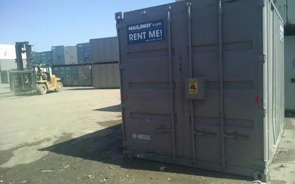 10ft Storage Container Rentals Delivered by Haulaway Storage
