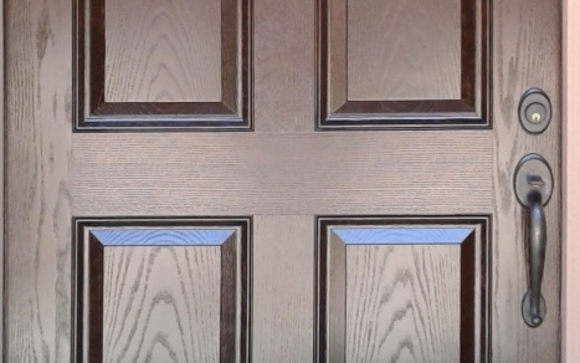 We Arrive At Your Home And Refinish Your Wood/fiberglass Door Onsite,  Generally In One Day. The Most Important Part Of Our Process Is Stripping  Your Door ...