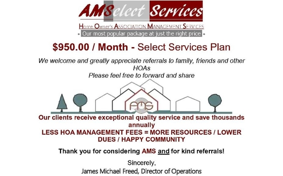 Home Owners Association Management Services
