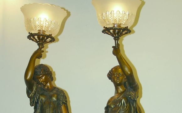 Lamp repair and rewiring by two if by sea gallery llc in ballston offering repairs and rewiring of table lamps floor lamps chandeliers sconces and lanterns greentooth Choice Image