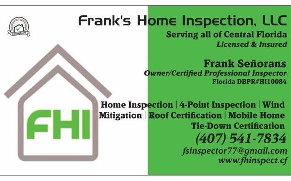 Frank\'s Home Inspection, llc - Kissimmee, FL - Alignable