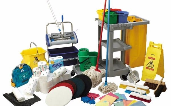 IAn image containing cleaning supplies