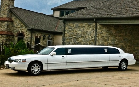 Lincoln Town Car 120 Stretch Limousine By New Wave Limousine In