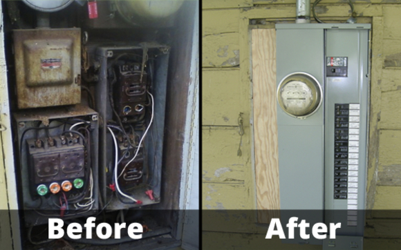 Panel Upgrade by Fal-Ken Electric & Fabrication in Jamestown Area ...