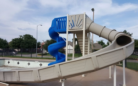 Residential commercial swimming pool slides by - Commercial swimming pool water slides ...