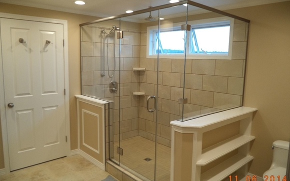 Custom Shower & Tub Enclosures by Colton Glass & Mirror, Inc. in ...