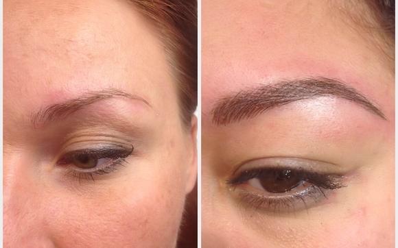 Permanent makeup scalp micropigmentation non laser for Eyeliner tattoo mn