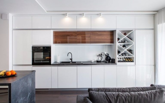 Great High Gloss Lacquered Cabinet Doors Will Give Your Kitchen A  Modern/contemporary Stylish Look, Enhancing The Busy Kitchen Environment  With Practicality.