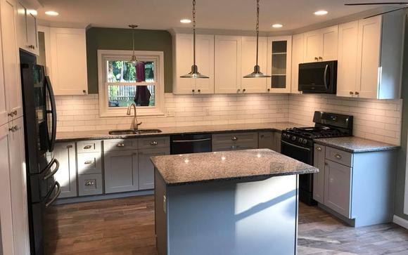 Full Kitchen Remodeling by Woodchuck Renovations, LLC in Marietta ...