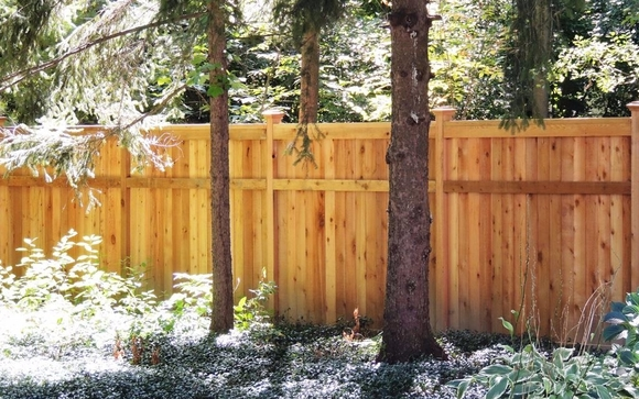 We Offer Many Different Styles Of Wood Fence: Privacy Fence In A Solid Or  Shadowbox Style, Picket Fence, Split Rail Fence And Many More Design  Options.